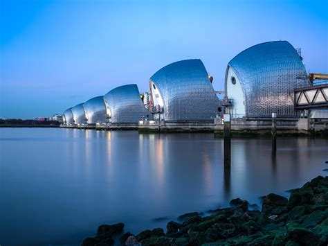 thames barrier long exposure photographing the thames barrier