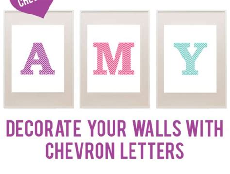 printable alphabet monograms free chevron printable letters decorate your walls with