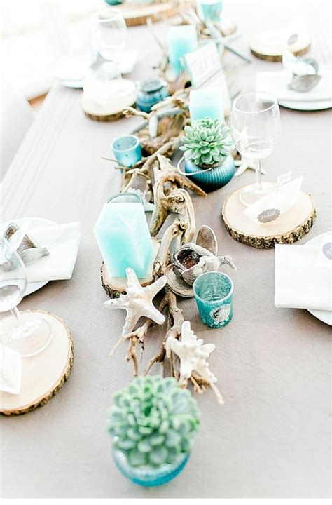 Strand Deko Hochzeit by Tischdekoration Hochzeit 88 Einzigartige Ideen F 252 R Ihr