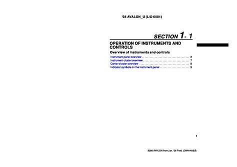 2005 toyota avalon manual 28 2005 toyota avalon repair manual 39787 owner s