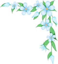 Flowers Border Clipart flower corners borders clipart best