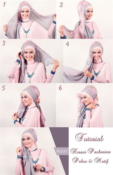 Jilbab Pashmina Polos 1000 Images About Tutorial On Shops