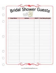 7 best images of bridal shower planning printable bridal