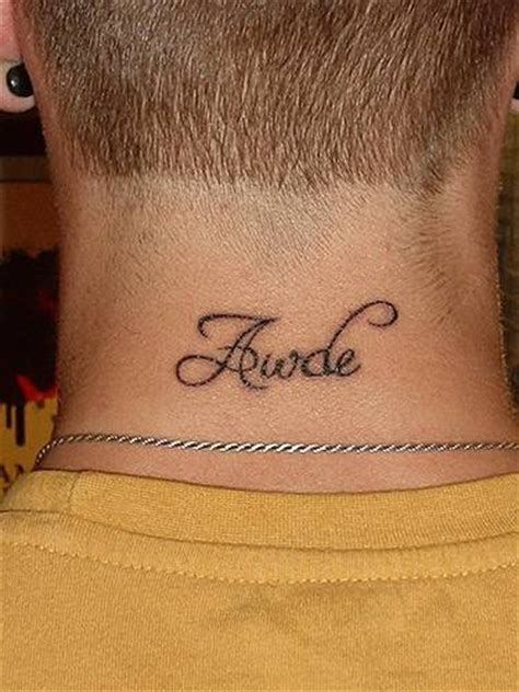 neck tattoo fonts name lettering tattoo on neck tattooimages biz