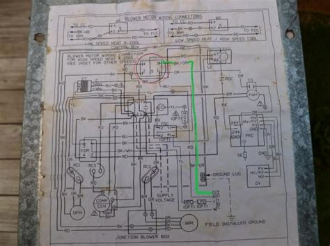 rheem model rrgg njkr furnace problem