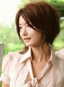 japanese haircut with long front pieces cortes de pelo medio corto para mujeres