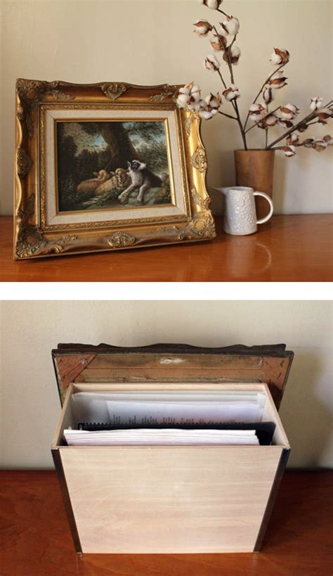 hidden storage diy project artwork secret storage box design sponge