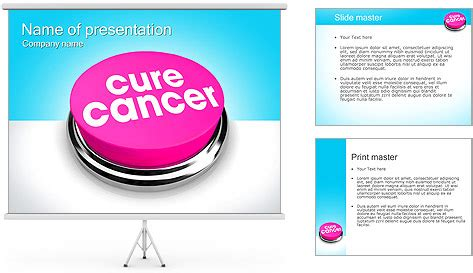 templates powerpoint cancer cure cancer powerpoint template backgrounds id