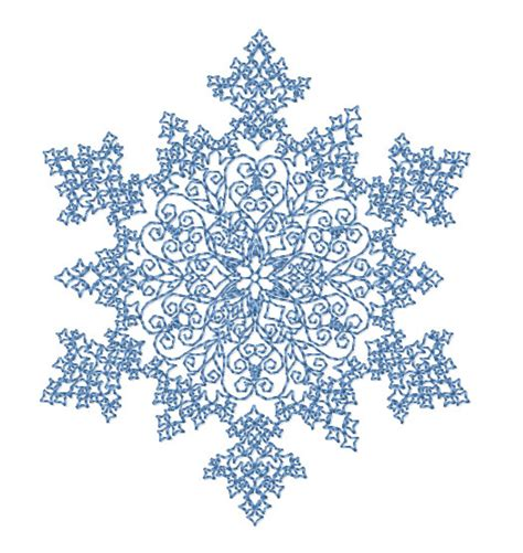 Printable Hawaiian Snowflakes | embroidery snowflake pattern embroidery designs