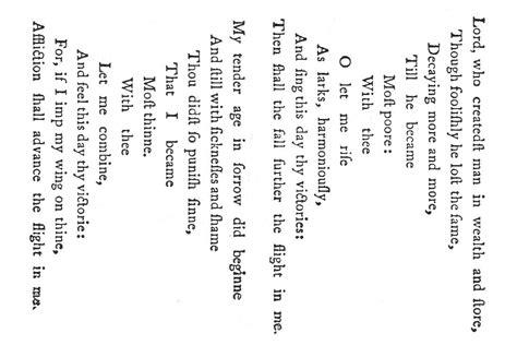 rhyme pattern in french file georgeherberteasterwingspatternpoem1633 jpg