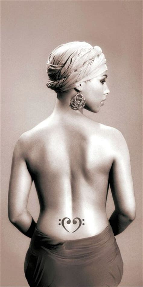 alicia keys tattoo 439 best images about celebridades sanaa lathan on