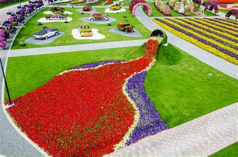 Dubai Miracle Garden Most Beautiful Garden In The World Largest Flower Garden In The World