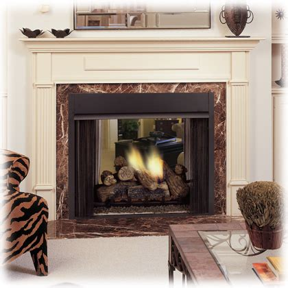 See Through Ventless Gas Fireplace by Vent Free And Ventless Fireplaces Monessen And Empire