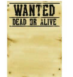 wanted posters template 7 wanted poster templates excel pdf formats