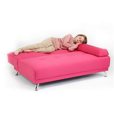 kids bed settee childrens cotton twill clic clac sofa bed with armrests
