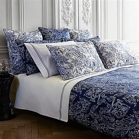 frette bedding frette at home via margutta duvet cover in blue white