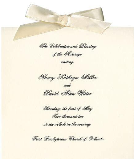 wedding invitation formal dress in print it s personal orlando magazine january 2011