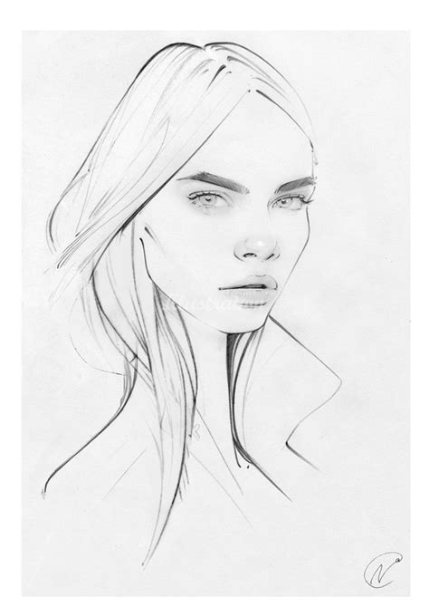 sketchbook cara best 25 cara delevingne drawing ideas on
