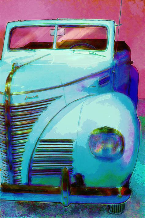 plymouth diner plymouth at the diner painting by dale nielsen