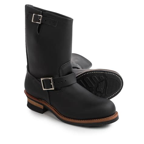 engineer boots wing heritage 2268 11 engineer boots leather