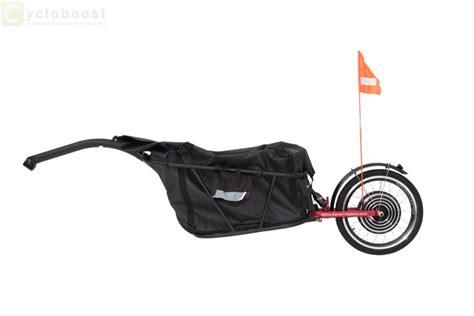 cycloboost electric bike trailer add some boost cargo