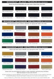 vehicle paint colors 108 best images about auto paint colors codes on