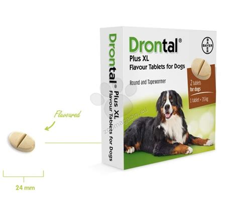 Bayer Drontal 1 Tablet bayer drontal plus xl 1