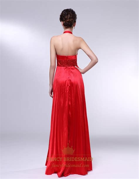 beaded halter prom dress v neck beaded halter gradient color prom