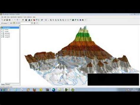 arcgis arcscene tutorial arcgis arcscene 3d