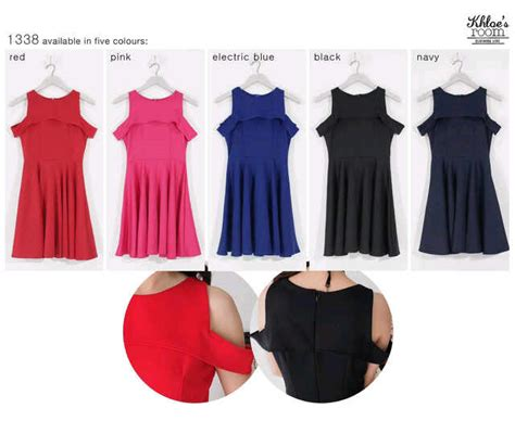 Dress Sabrina 35880 Bhn Scuba Fit L dress bangkok i l o v e f a s h i o n s s