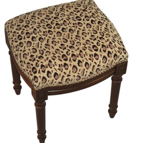 Leopard Print Stool by Leopard Print Furniture