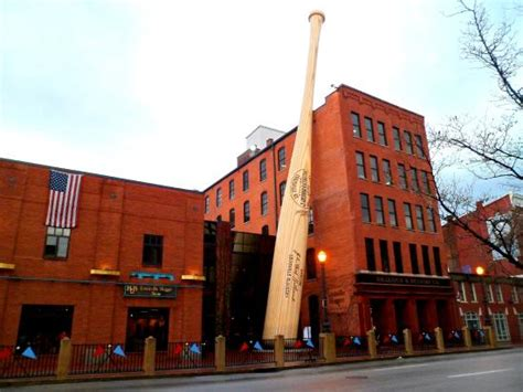 louisville slugger museum factory louisville kentucky giant baseball mitt inside the museum picture of
