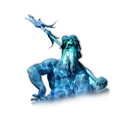 poseidon trident png poseidon bleu trident illustration