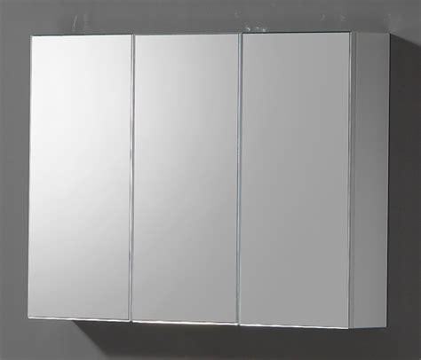 triple mirrored bathroom cabinet wall mounted bathroom mirror storage cabinet cupboard ebay