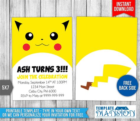 pikachu birthday card template pikachu birthday card within ucwords card design ideas