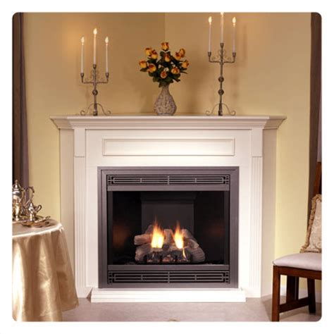 Corner Gas Log Fireplace by Corner Fireplaces Corner Gas Fireplaces