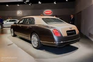 Bentley Extended Care How Bentley Made The Mulsanne Ewb Wheelbase Look