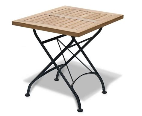 large square folding table square folding bistro table 60cm