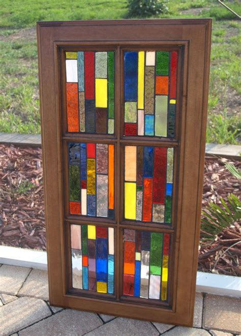 stained glass cabinet doors 82 best interior privacy swing door ideas images on