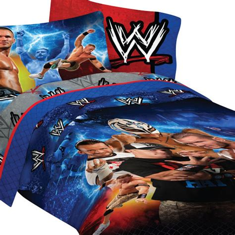 john cena bedroom decor wwe wrestling chions 4pc john cena twin bedding set