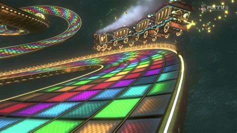 Rainbow Road the gallery for gt mario kart rainbow road background
