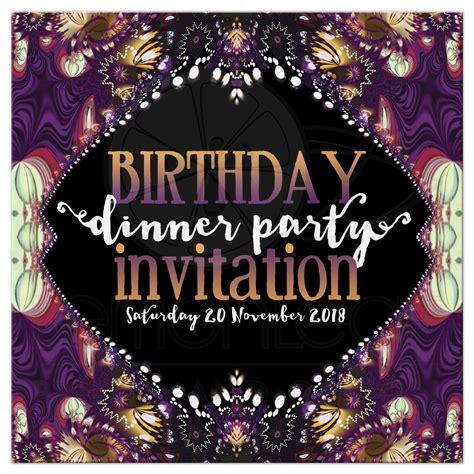 business dinner invitation birthday dinner invitation template