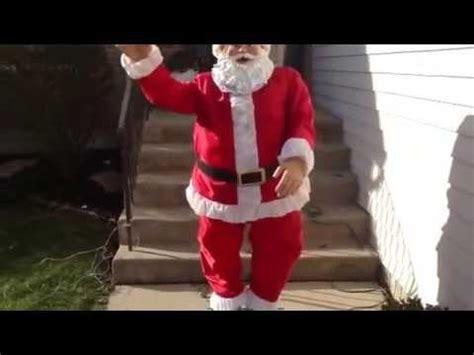 anmated waving snata indoor outdoor 6 animated waving singing santa