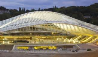 Santiago calatrava unveils high speed rail station in