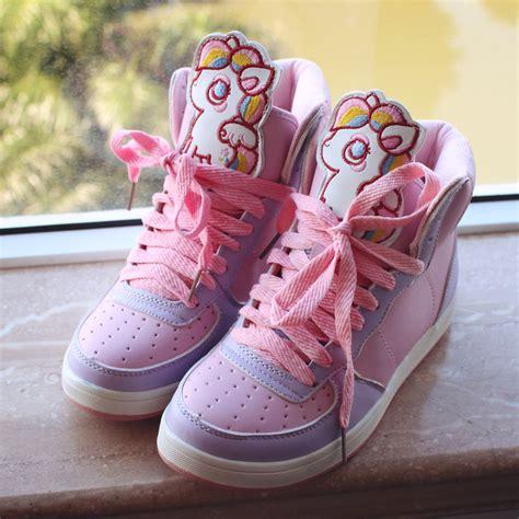 kawaii shoes kawaii animal pastel pony sneakers 183