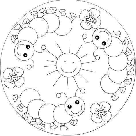 mandala coloring pages spring spring mandala coloring page crafts and worksheets for