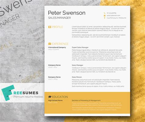 11 Free Resume Templates You Can Customize In Microsoft Word Hubspot Resume Templates