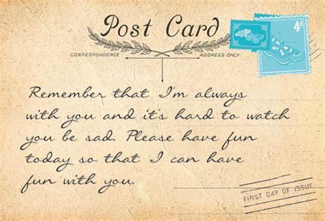 postcards from spirit a postcards from heaven carmel joy baird