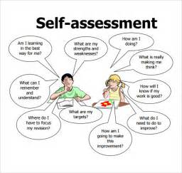 Personal Assessment Template by Self Assessment 7 Free Sles Exles Format
