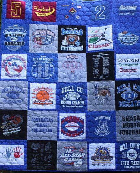 high school football t shirt quilt high school